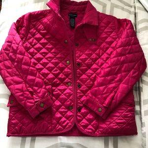 Ralph Lauren kids  pink jacket